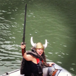 Viking Attack on The Exploratorium. Video to Follow.
